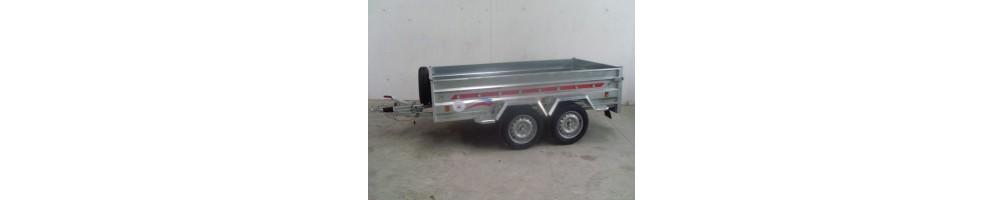 Remorques cargo à 2 essieux